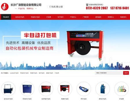长沙广澳智能设备有限公司网站建设完成上线