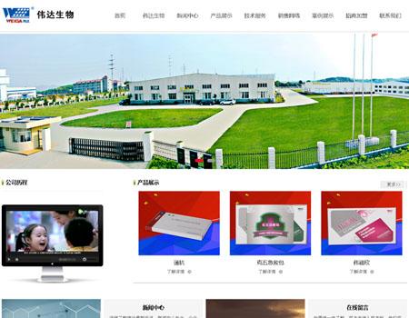 网站建设-湖南伟达生物科技有限公司案例展示